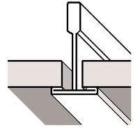 Inleg montage systeemplafond