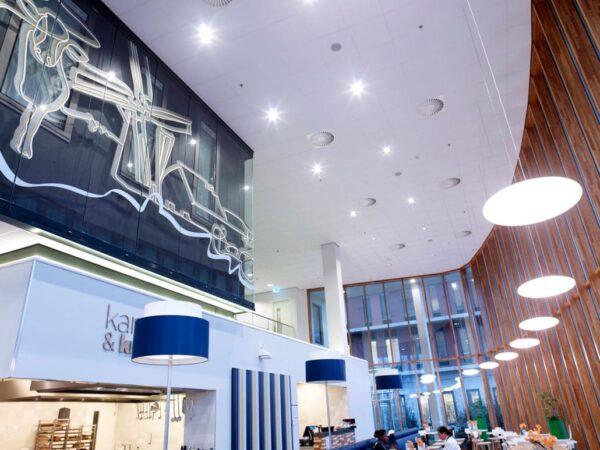 Sinfonia systeemplafond platen plafond panelen akoestiek