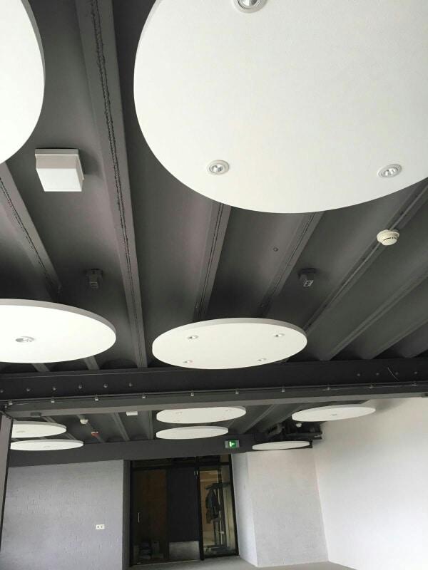 sp ceiling trading ronde akoestische plafond panelen platen eiland akoestisch akoestiek