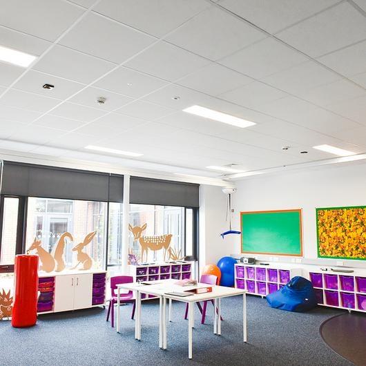 ecophon gedina a plafondplaat systeemplafond inleg