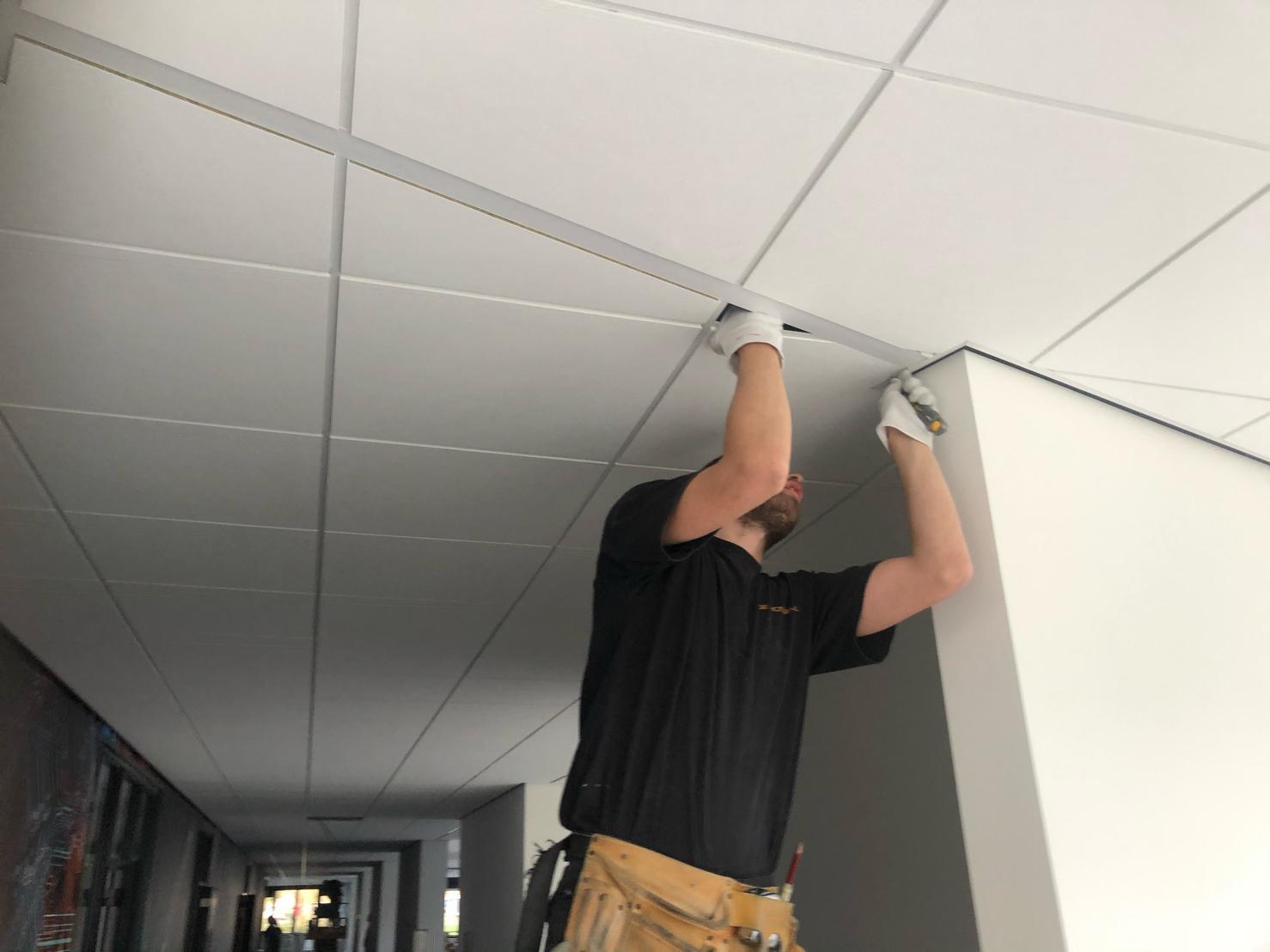 akoestiek verbeteren nick wat is akoestisch plafond systeemplafond wit inleg systeemplafondplaten panelen