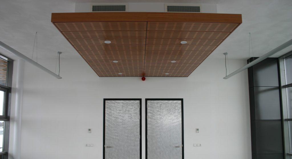 akoestisch plafond eiland systeemplafond plafondpanelen akoestiek platen