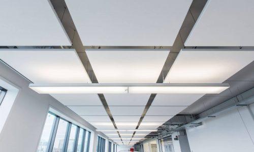 rockfon eclipse plafondeiland akoestische plafondpanelen plafondplaten akoestiek systeemplafonds.nl hilversum