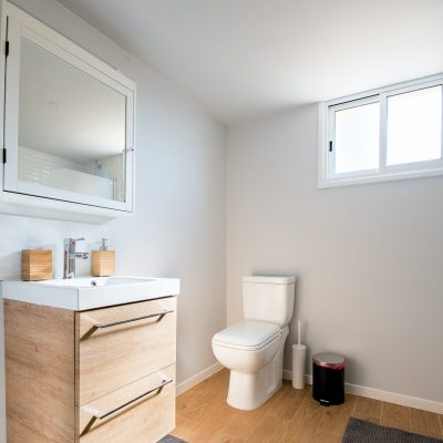 plafond gipskarton gipsvinyl metal stud badkamer douche toilet plafondplaten panelen plafondsysteem
